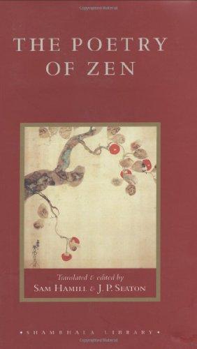 9781570628634: The Poetry of Zen (Shambhala Library)