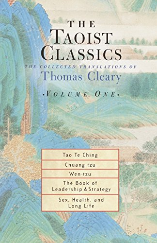 9781570629051: The Taoist Classics, Volume 1: The Collected Translations of Thomas Cleary