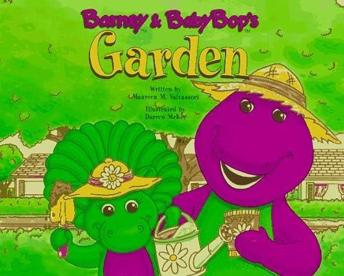 Barney and Baby Bop's Garden: With Pack: Valvassori, Maureen M.