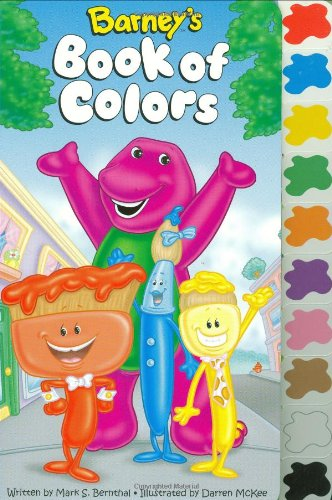9781570644542: Barney's Book Of Color (tab)