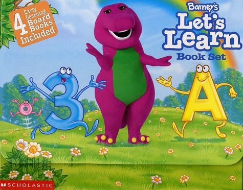 9781570645174: Barney's Let's Learn: Book Set