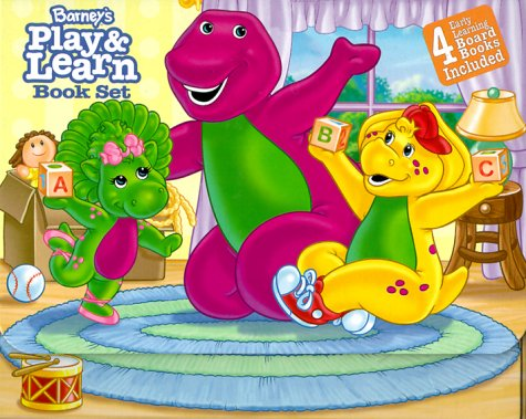 9781570647543: Barney's Play And Learn Book Set