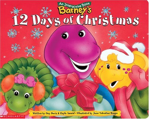 Barney's 12 Days Of Christmas: Scholastic
