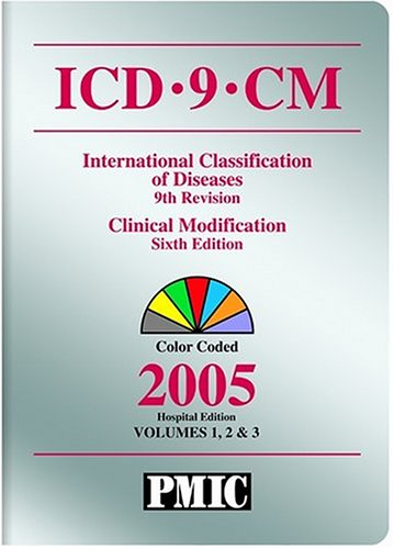 9781570663185: ICD-9-CM International Classification of Diseases, 9th Rev: Clinical Modification, 2005, Vols. 1, 2, & 3 (ICD-9-CM Coder's Choice)