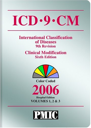 9781570663666: ICD-9-CM 2006, Hospital Edition, Vol. 1, 2 & 3 (Icd-9-Cm (Hospitals)Soft Cover