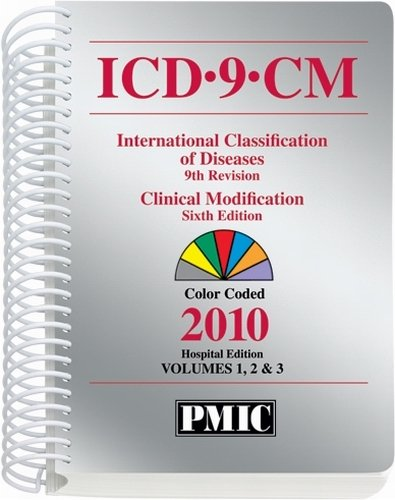 9781570666070: ICD-9-CM 2010 Hospital Edition, Spiral Volumes 1, 2 & 3 (Icd-9-Cm (Hospitals))