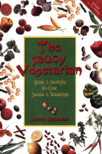The Saucy Vegetarian (1570670919) by Joanne Stepaniak