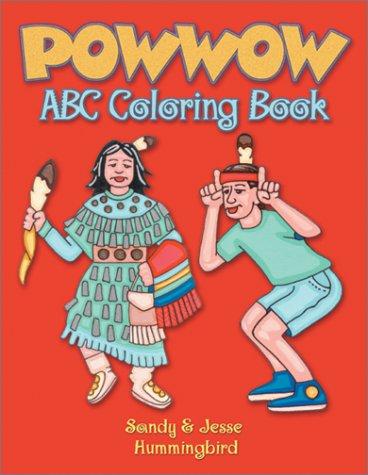 Powwow ABC Coloring Book (Coloring Books): Sandy Hummingbird, Jesse