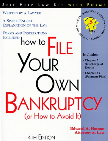 9781570712234: How to File Your Own Bankruptcy (Or How to Avoid It): With Forms (4th ed)