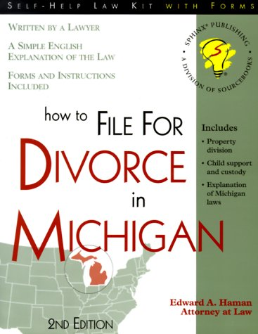 9781570714092: How to File for Divorce in Michigan: With Forms