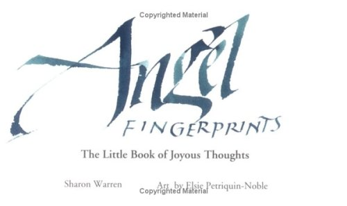 9781570714450: Angel Fingerprints: The Little Book of Joyous Thoughts