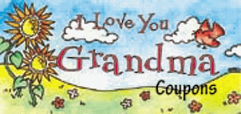 I Love You Grandma: Coupons: Sourcebooks
