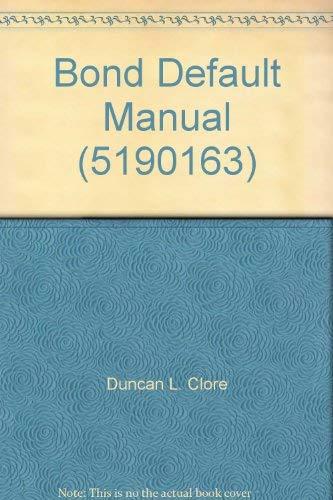 9781570731693: Bond Default Manual (5190163)