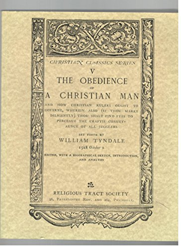 9781570743771: The Obedience of a Christian Man