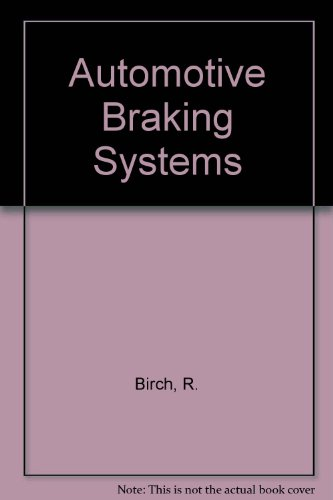 9781570744044: Automotive Braking Systems