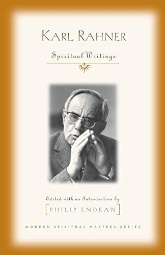 9781570755538: Karl Rahner: Spiritual Writings (Modern Spiritual Masters Series)