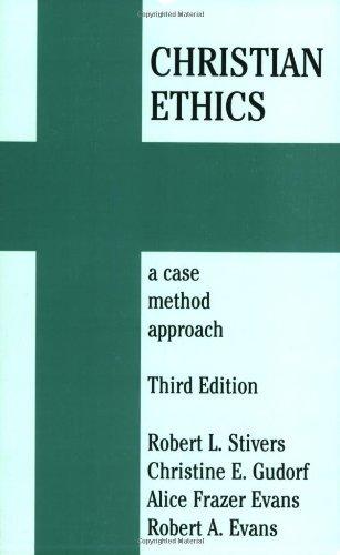9781570756214: Christian Ethics: A Case Method Approach