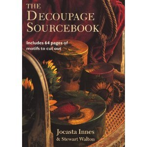 Decoupage Sourcebook includes 64 pages of motifs to cut out: Innes, Jocasta, and Walton, Stewart