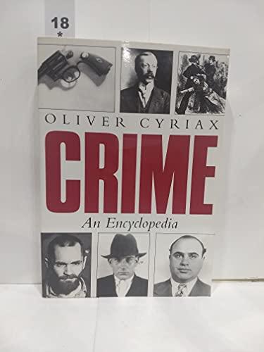 9781570760648: Crime: An Encyclopedia