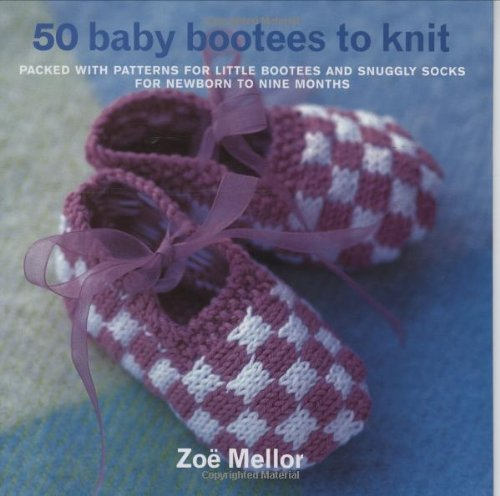 9781570762246: 50 Baby Bootees to Knit
