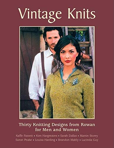 9781570763120: Vintage Knits: Thirty Knitting Designs from Rowan for Men and Women