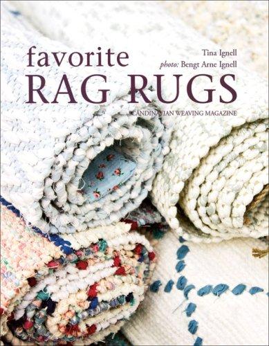 9781570763700 Favorite Rag Rugs 45 Inspiring Weave Designs