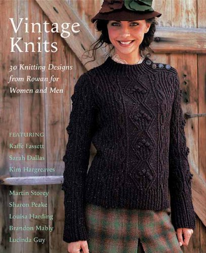 9781570764585 Vintage Knits 30 Knitting Designs From Rowan For