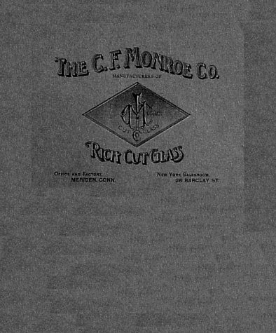 9781570800719: The C.F. Monroe Company Catalogs (1902-1903) Wave Crest Gems and Rich Cut