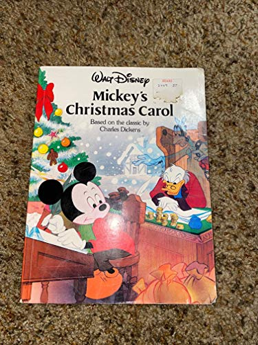 9781570820052: Disney's Mickey's Christmas Carol (Disney Classic Series)