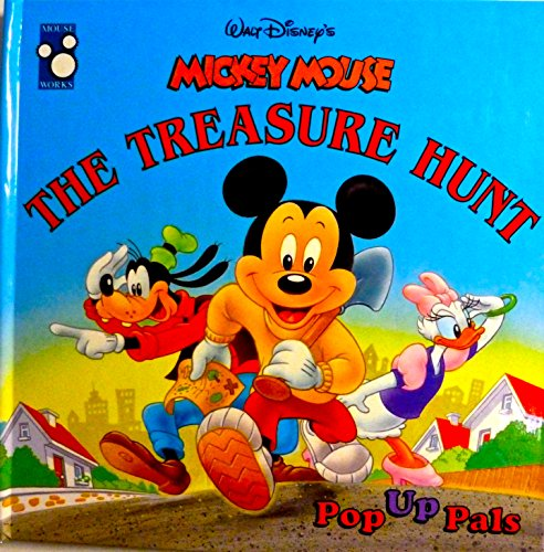 Mickey Mouse: The Treasure Hunt (Pop Up: Walt Disney