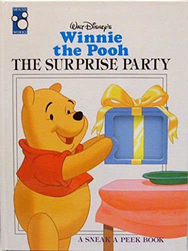 9781570820977: Winnie the Pooh: The Surprise Party (A Sneak a Peek Book)