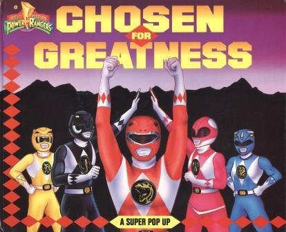 9781570821127: Mighty Morphin Power Rangers: Chosen for Greatness -- A Super Pop Up