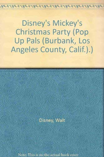 Disney's Mickey's Christmas Party (Pop Up Pals.)