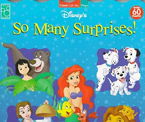 9781570826382: Disney's So Many Surprises! (Roly Poly Lift the Flaps)