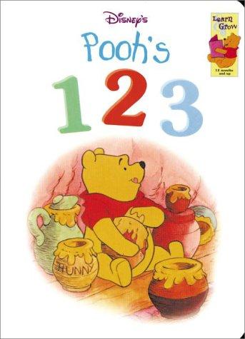 9781570827891: Disney's Winnie the Pooh: 123 (Learn & Grow)