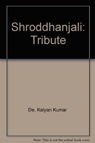 Shroddhanjali: Tribute: De, Kalyan Kumar