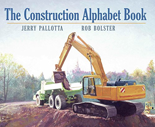 9781570914379: The Construction Alphabet Book (Jerry Pallotta's Alphabet Books)