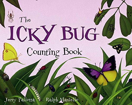 9781570916243: The Icky Bug Counting Board Book