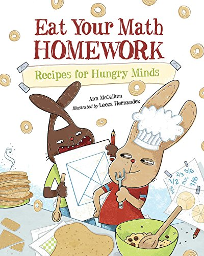 9781570917806: Eat Your Math Homework: Recipes for Hungry Minds (Eat Your Homework)