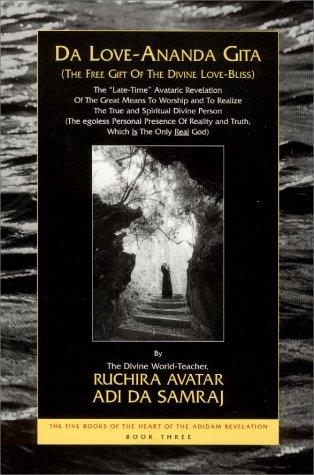 9781570971112: Da Love-Ananda Gita: The