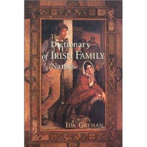 The Dictionary of Irish Names: Ida Grehan