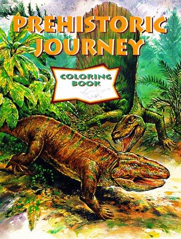 Prehistoric Journey Coloring Book: Leggitt, Marjorie