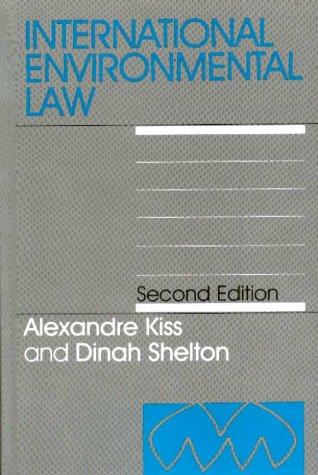 9781571051004: International Environmental Law