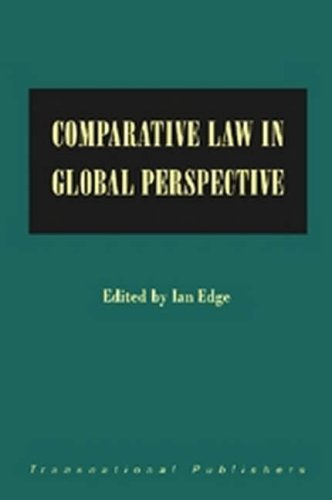 Comparative Law in Global Perspective