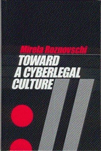 9781571052728: Toward a Cyberlegal Culture