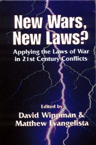 9781571053152: New Wars, New Laws?: Applying Laws of War in 21st Century Conflicts