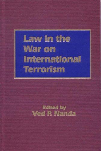 9781571053190: Law In The War On International Terrorism