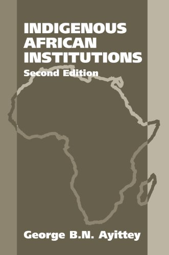 9781571053374: Indigenous African Institutions