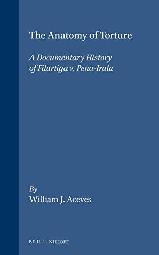 9781571053527: The Anatomy of Torture: A Documentary History of Filartiga v. Pena-Irala