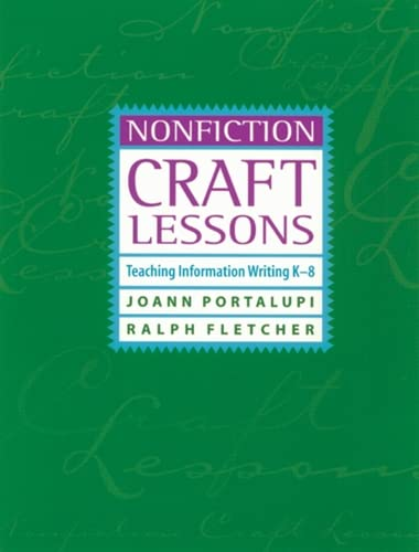 9781571103291: Nonfiction Craft Lessons: Teaching Information Writing K-8